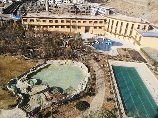 西藏芒康云曲温泉酒店,温泉,泳池